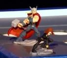 Thor, Black Widow (Figures)